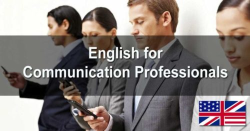 English for Communication Professionals