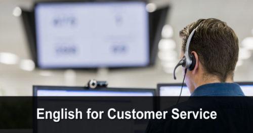 English for Customer Service