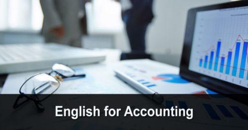 English for Accounting (anglais pour la comptabilité)