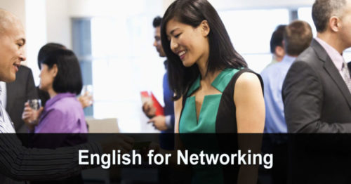 English for Networking