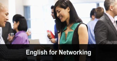 English for Networking (anglais pour développer son réseau)