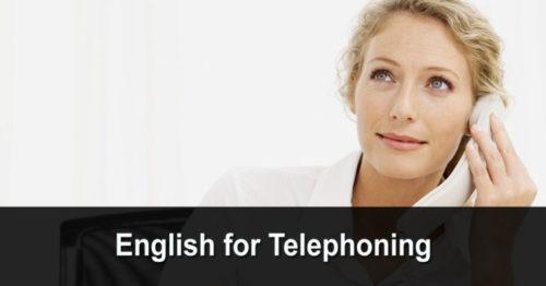 English for Telephoning (anglais pour téléphoner)