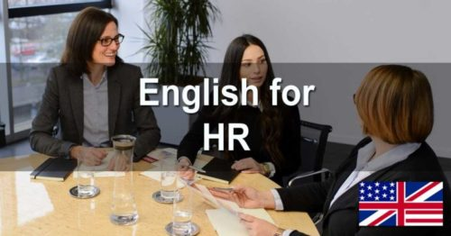 English for HR