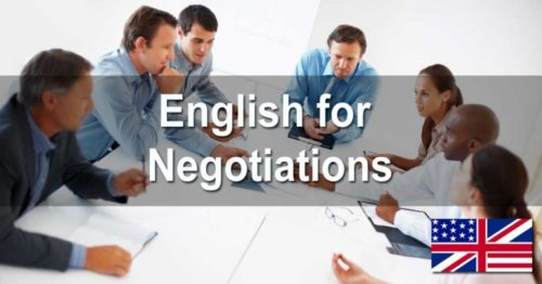 English for Negotiations