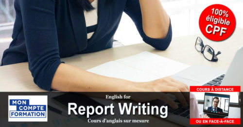English for Report Writing