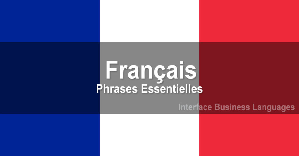 Survival French (42 key expressions)