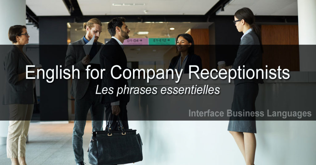 English for Company Receptionists